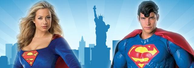 Teaser Superman Kostüm Supergirl Kostüm