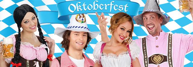 Bayrische Kostüme für Oktoberfest