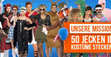 Gewinnspiel 50 Kostüme