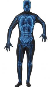 Skelett Röntgen Kostüm