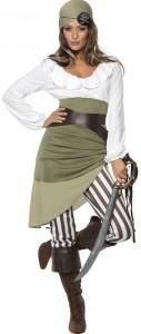 Piratin Kostüm Sassy