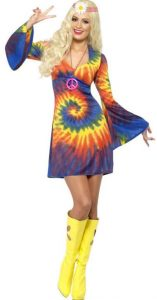 Hippie Kostüm Rainbow Lady