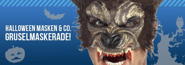 Halloween: Masken zum Gruseln