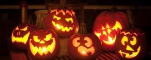 Kürbis zu Halloween