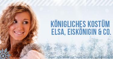 Koenigliches Kostuem Elsa, Eiskoenigin und Co.