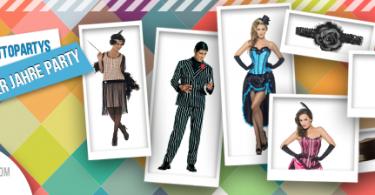 20er Jahre Party im Burlesque Kostuem