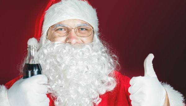 Cola Weihnachtsmann