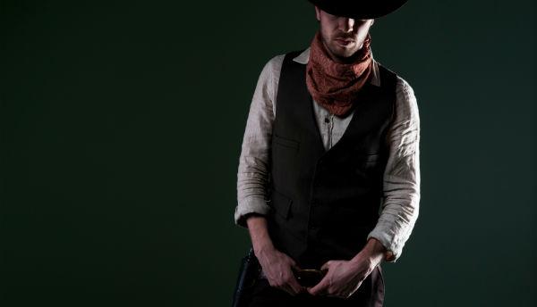 Klassisches Kostüm Cowboy