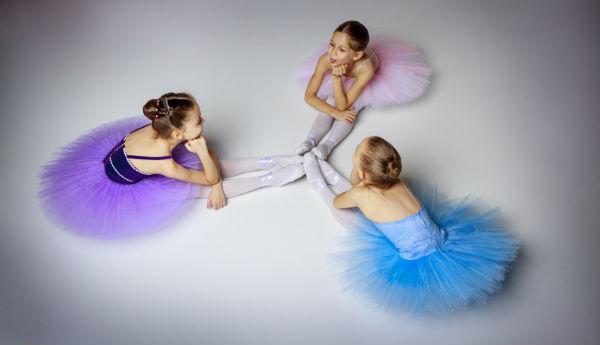 Ballerinas drei Kostüme