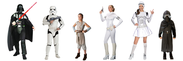 Familienkostüm Star War Kostüm