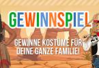 Familien Gewinnspiel Kostüme