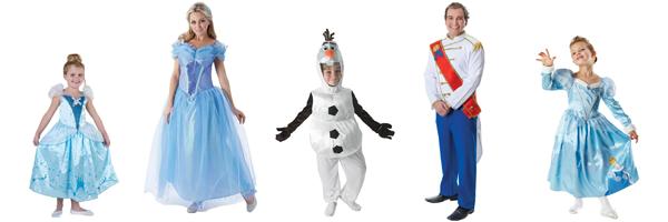 Familienkostuem Disney kostuem