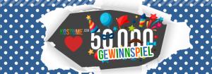 Gewinnspiel für 50.000 Facebook Fans