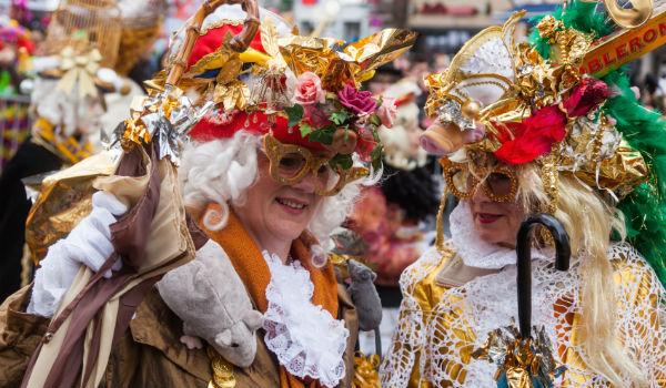 Jecken im Karneval