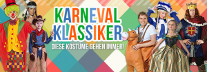 Karneval Klassiker Kostüme