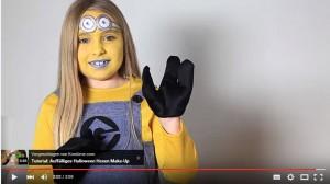 Minion Kostüm für Karneval