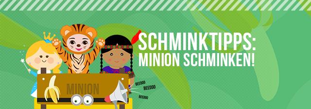 Minion schminken