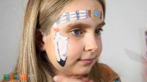 Indianer schminken zu Karneval