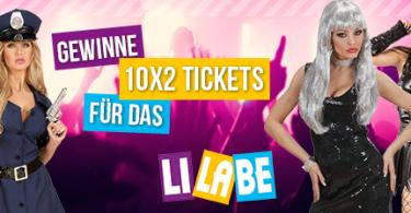Gewinne 10x2 Tickets für das LiLaBe