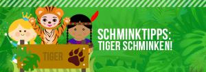 Tiger Schminken Tutorial