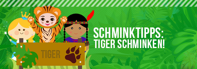 Tiger Schminken Tutorial