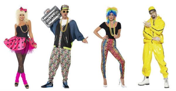 4 Kostüme für die Abi Mottowoche für Männer und Frauen mit dem Thema Bad Taste