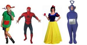 Kindheitshelden Kostüme für Männer und Frauen