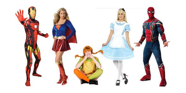 Abi Mottowoche - Superhelden Kostüme