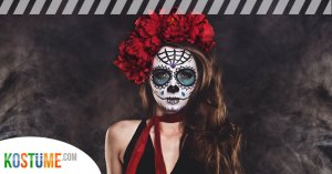 Sugar Skull La Catrina Make Up schminken