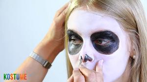 Sugar Skull schminken - Nase