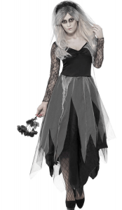 friedhofsbraut halloween - halloween kostüme unter 30