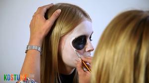 Sugar Skull schminken - Korrekturen