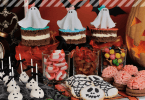 Selbstgemachte Halloween Snacks