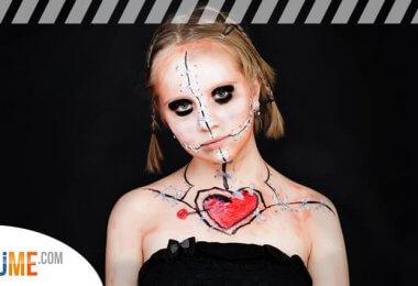 Last Minute Halloween Kostüme und Make Up