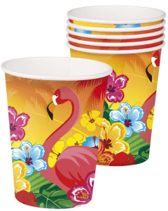 Partybecher mit Hawaii-Motiv