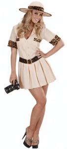 Kurzes Safari Kostüm für Damen