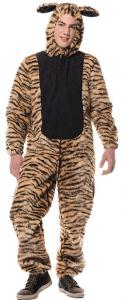 Tiger Kostüm Overall für Herren