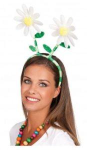 Gänseblümchen Haarreif für ein Blumenkostüm