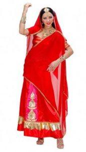 Bollywood Diva Sari Inderin Kostüm - 1001 Nacht