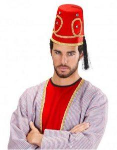 Fez Orient Hut - 1001 Nacht Kostüm