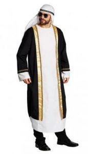 Scheich Abdul Abu Dubai Herrenkostüm - 1001 Nacht Kostüm