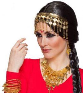 orientalischer Kopfschmuck - 1001 Nacht Kostüm