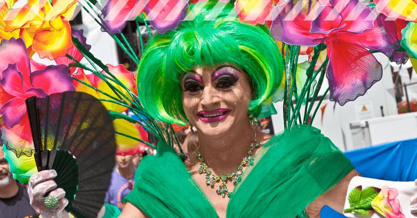 Regenbogen Kostüme - Christopher Street Day 2017