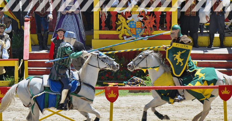 Mittelalter-Gewandung - passende Kostüme für Mittelaltermärkte! Ritterspektakel auf Mittelaltermarkt