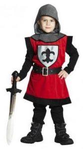 Mittelalter Gewandung - Ritter Kostüm 3tlg für Kinder