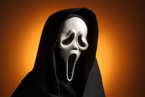 Maske aus dem Film Scream