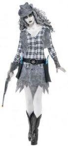 Geisterstadt-Cowgirl-Kostüm