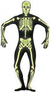 leuchtendes-Skelett-Bodysuit