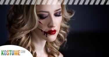 Halloween-Wunden schminken