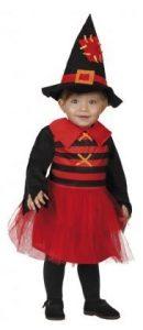 Kleine Halloween Hexe Kinderkostüm